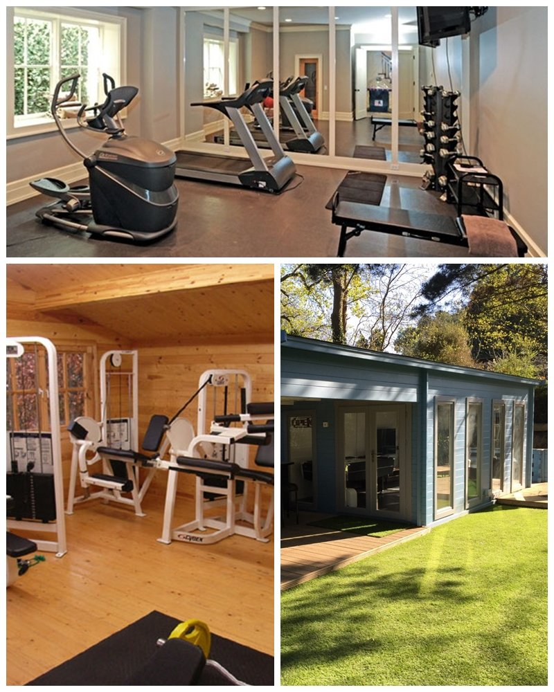 Home gym in london or surrey our log cabins are perfect