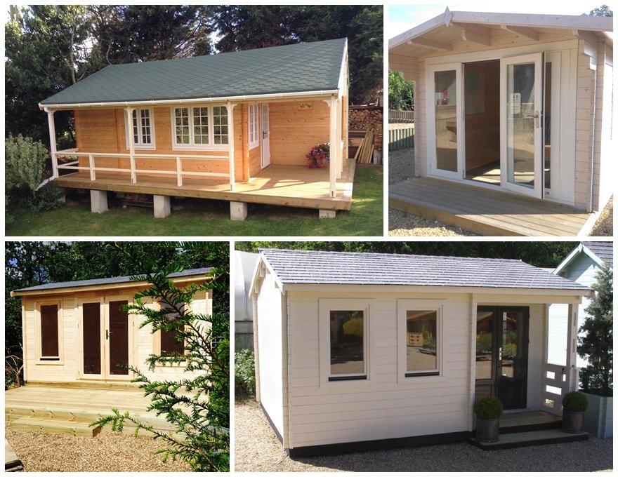 Hobby Room - Garden Log Cabin Hobby Rooms, London & Surrey