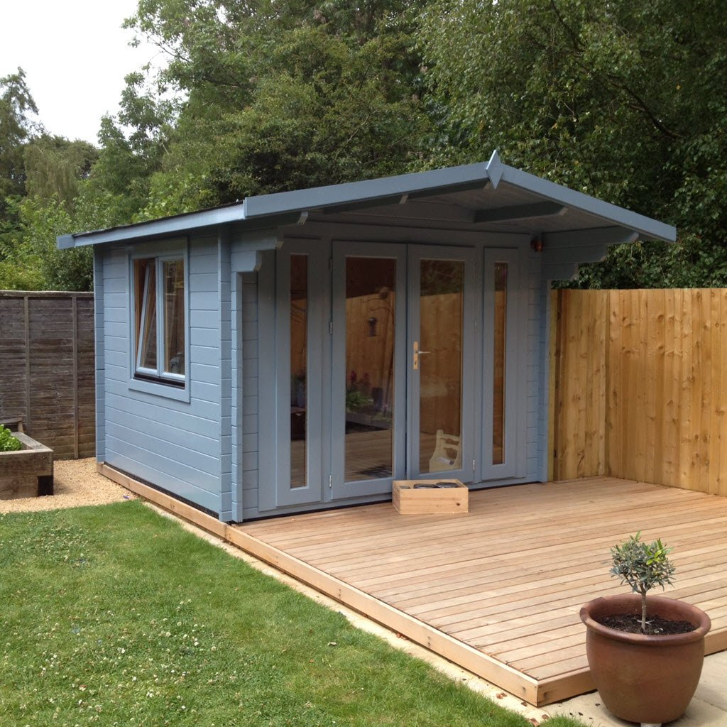 Most UK log cabin and timber buildings can be installed in your garden or land areas without planning permission
