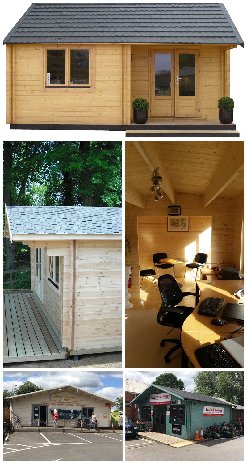 Our Timber Workshops are the ideal solution for outdoor working