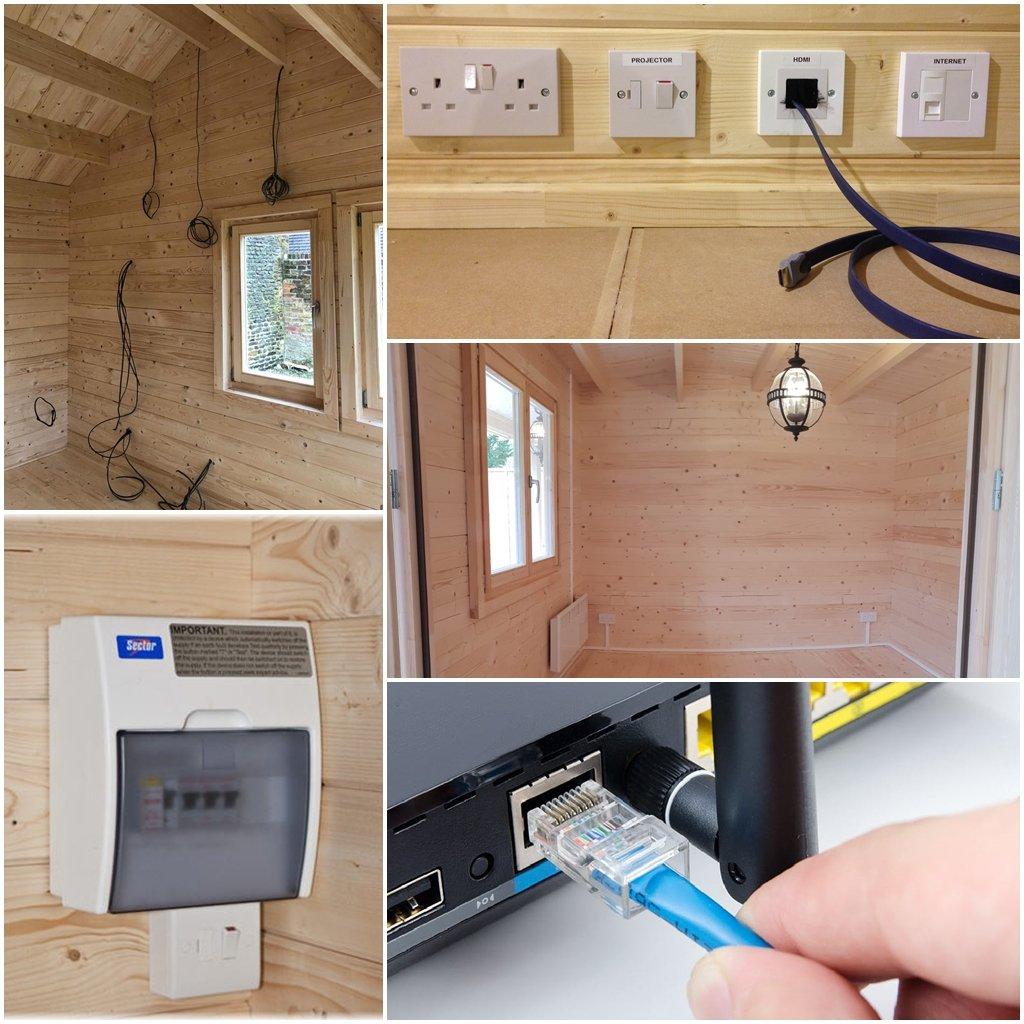 Our standard electrical packages can be upgraded to suit your individual requirements