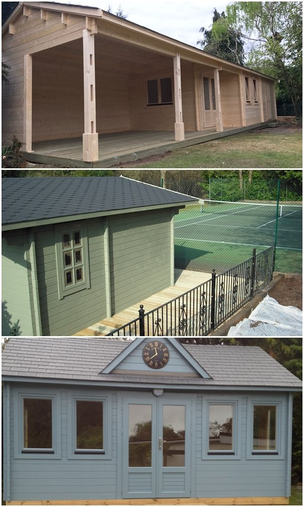 Our timber pavilions are perfect for a wide range of sporting and recreational purposes