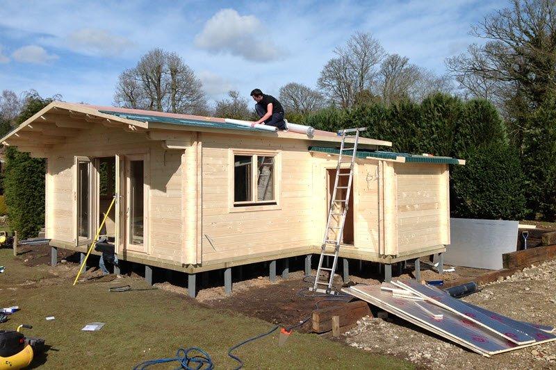 Timber-Garage-Installation