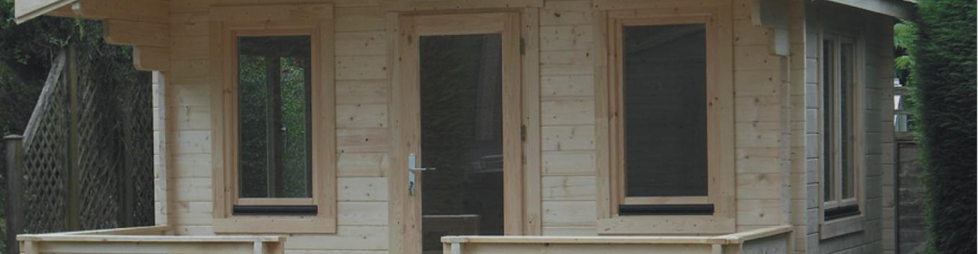 'Essex' log cabin