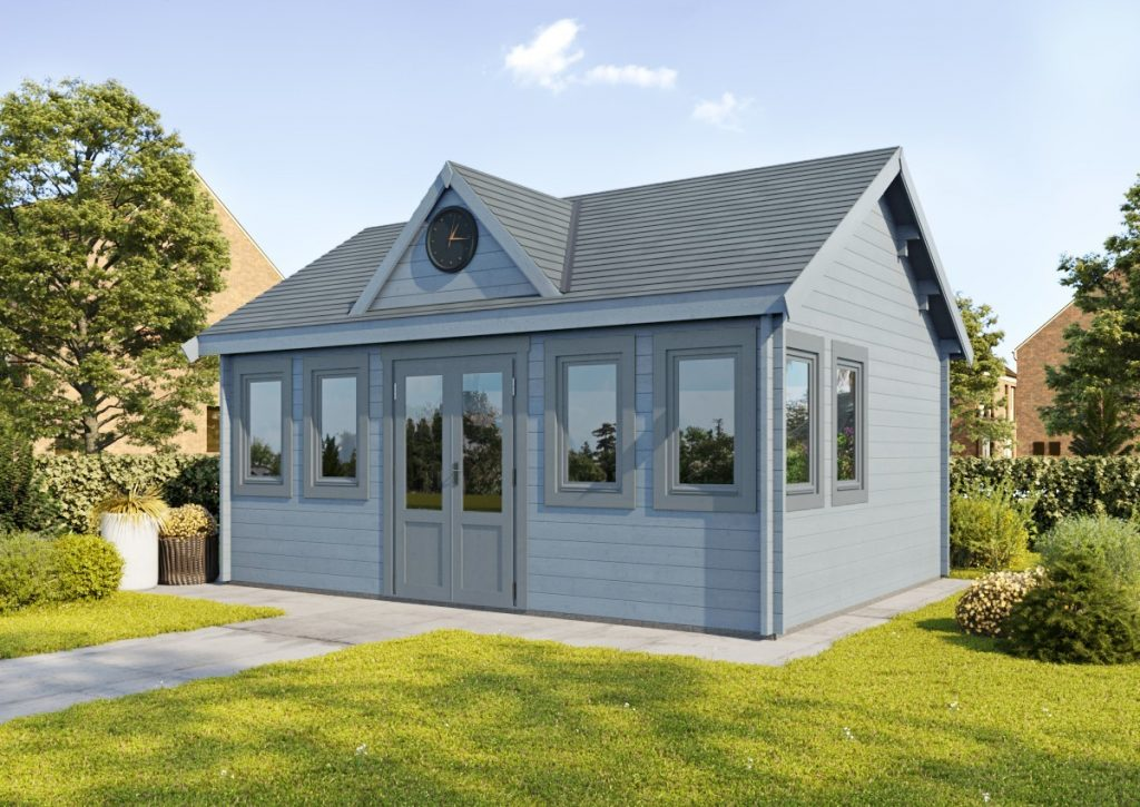 The Norfolk Cabin provides a large versatile space