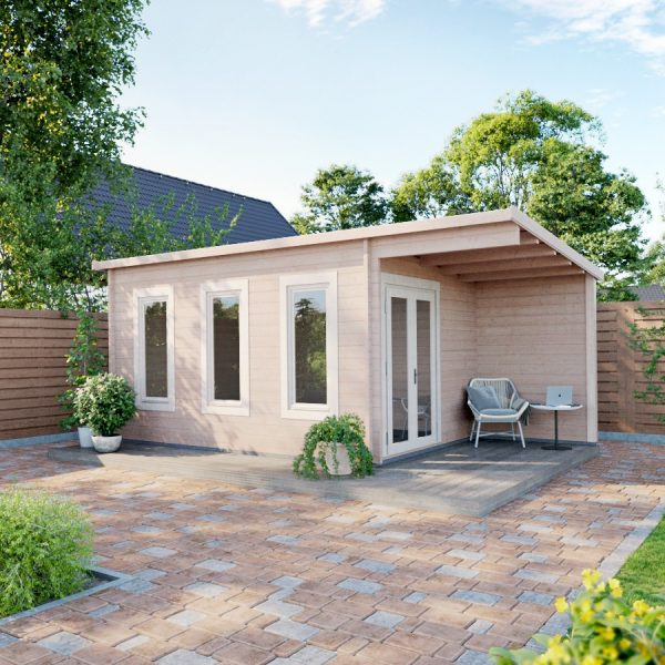 Cambridgeshire Cabin as a home office - leisure room