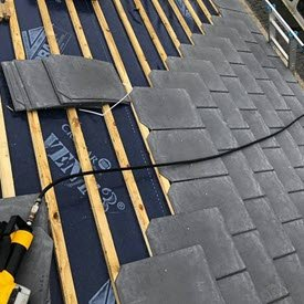 Rubber Slate Roof.