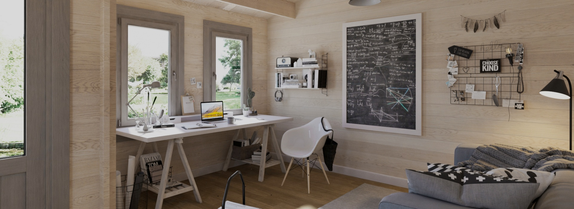 Garden home offices - Working from home