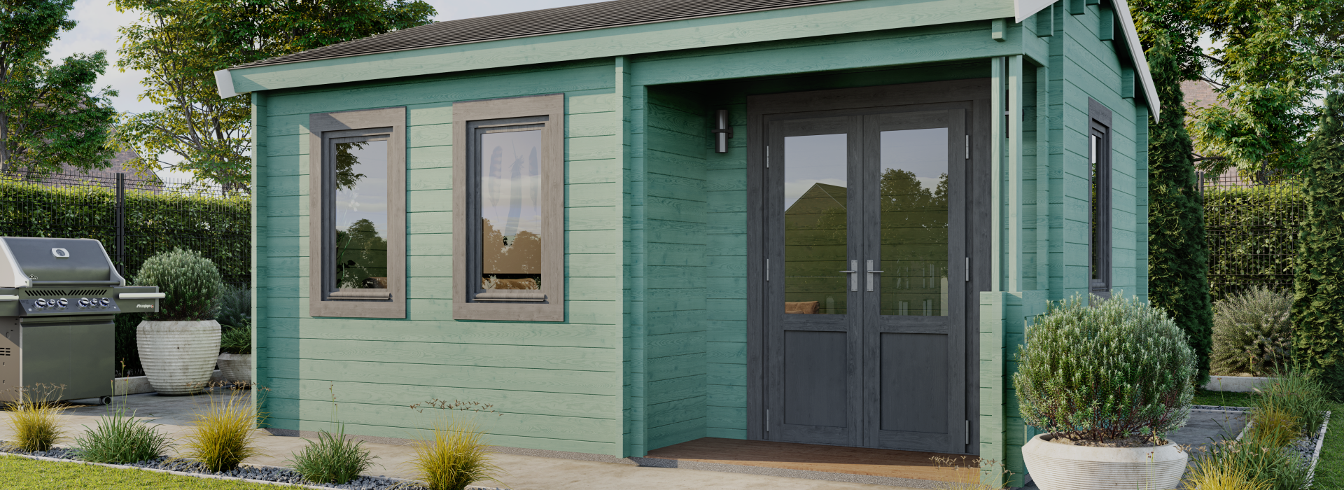 Log Cabins Suppliers, Garden Home Offices, Dorset