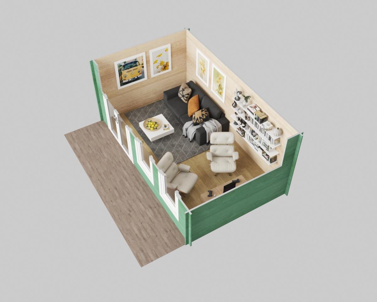 Oxfordshire 3D plan