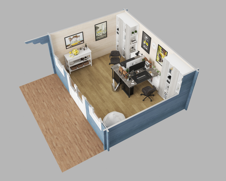 Suffolk 3D plan