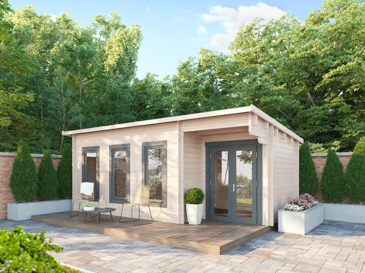 The 'Somerset' Log Cabin